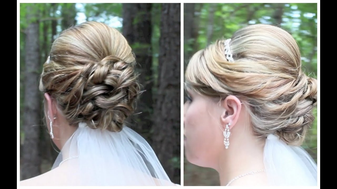 The Best Bridal Updo On Shoulder Length Hair Youtube Pictures