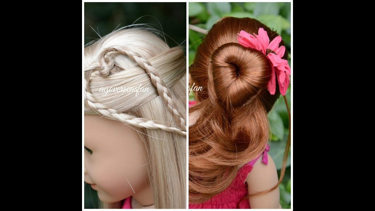 The Best American Girl Doll Hairstyles Inspired By Pictures