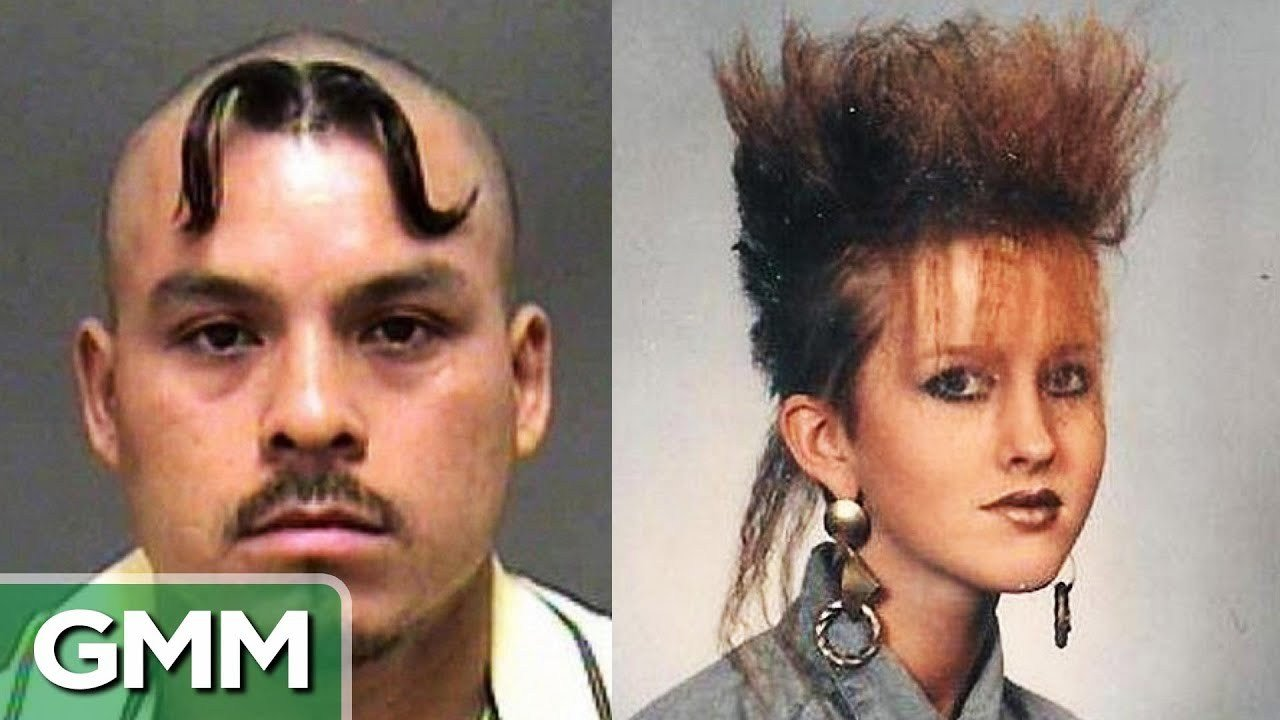 The Best 25 Worst Hairstyles Ever Youtube Pictures
