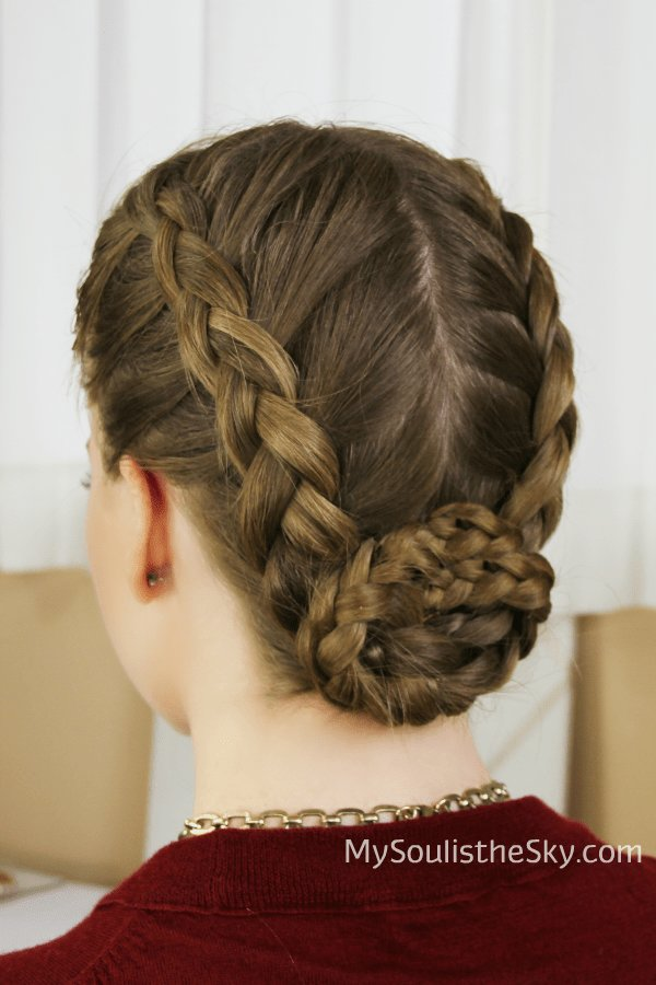 The Best Double Dutch Braided Bun Pictures