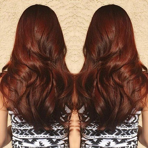 The Best 40 Scrumptious Vibrant Hues For Chocolate Brown Hair Pictures
