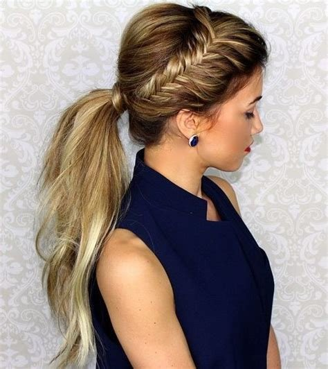 The Best 35 Super Simple Messy Ponytail Hairstyles Pictures