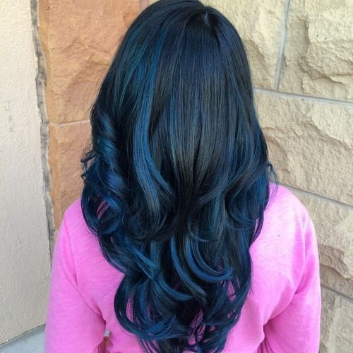 The Best 40 Fairy Like Blue Ombre Hairstyles Pictures