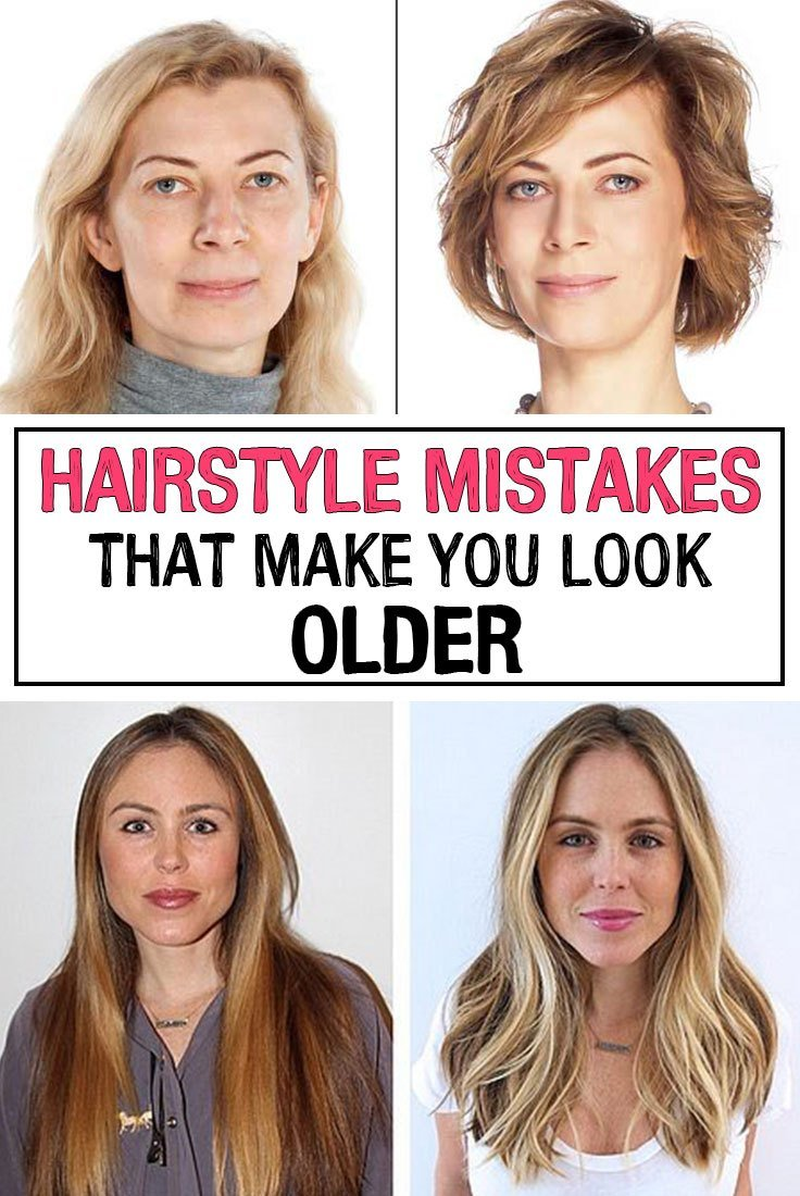 The Best Hairstyle Mistakes That Make You Look Older Iwomenhacks Pictures