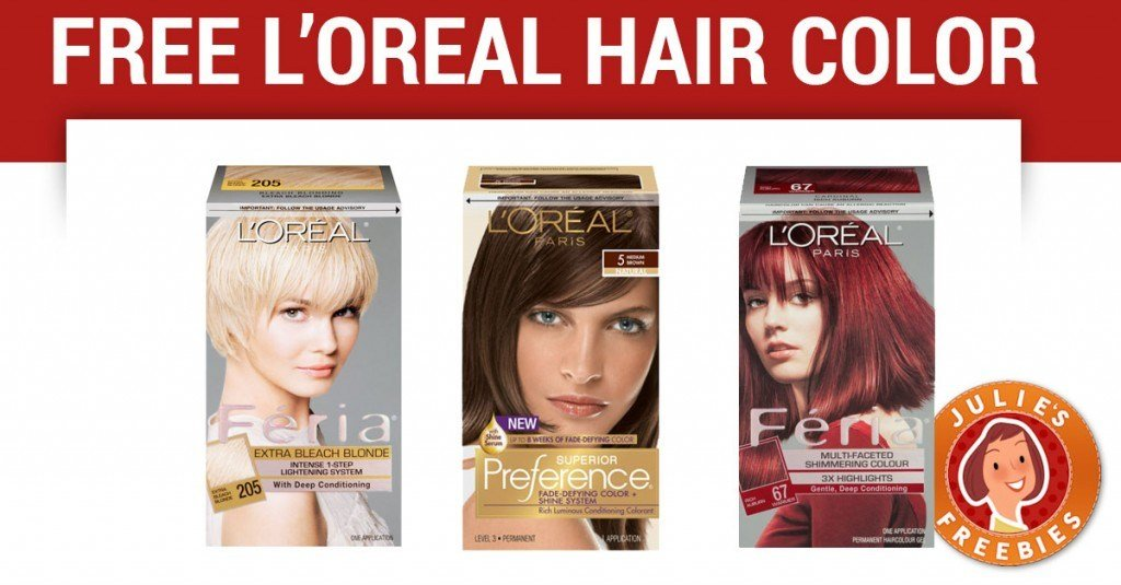 The Best Free L Oreal Hair Color Julie S Freebies Pictures