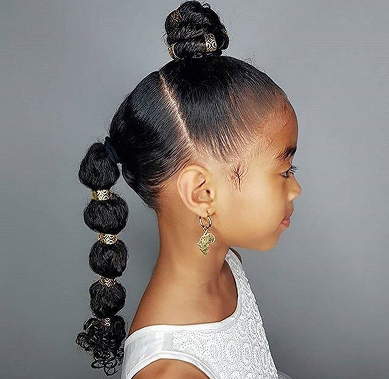 The Best Kids Hairstyles For Black Girls Kids Hairstyle Haircut Pictures