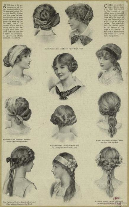 The Best 1910 Hairstyles Matthew S Island Of Misfit Toys Pictures