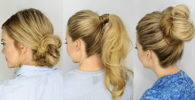 The Best 3 Easy 5 Minute Hairstyles Pictures