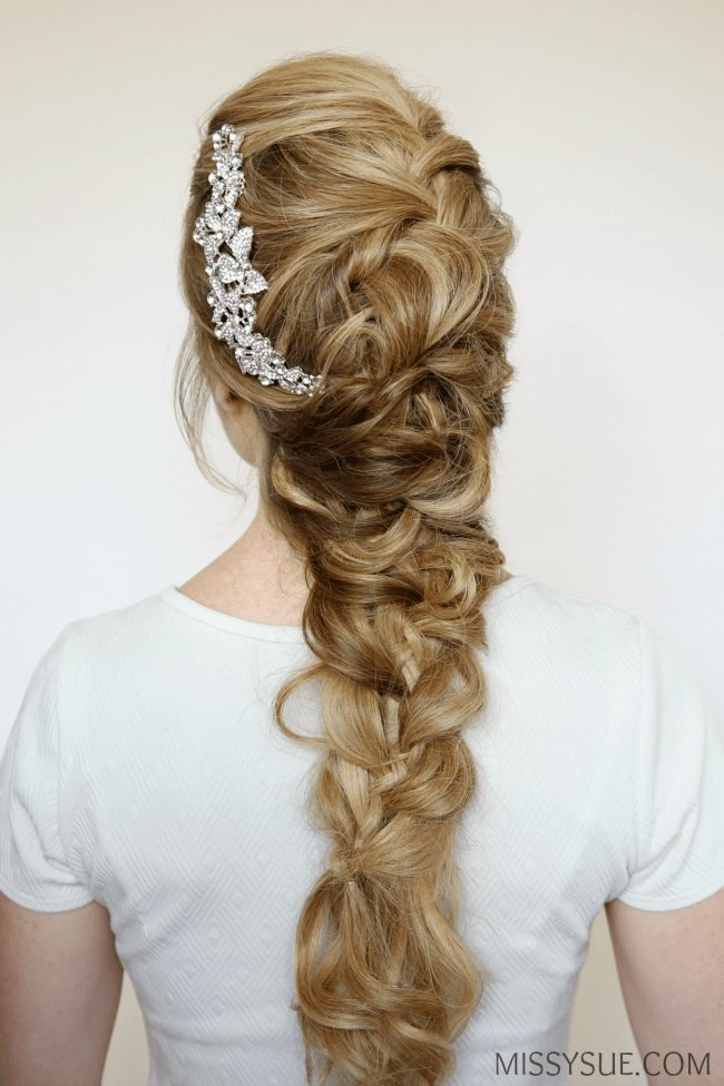 The Best Fancy Formal Braid Missy Sue Pictures