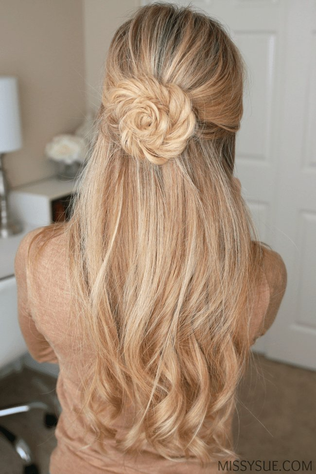 The Best Fishtail Braid Flower Missy Sue Pictures