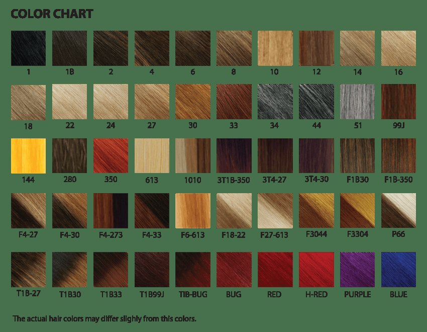 The Best Xpressions Braiding Hair Color Chart World Of Printable Pictures
