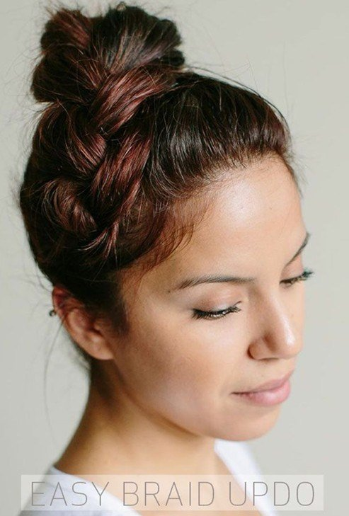 The Best Simple And Easy Hair Updos Popular Haircuts Pictures
