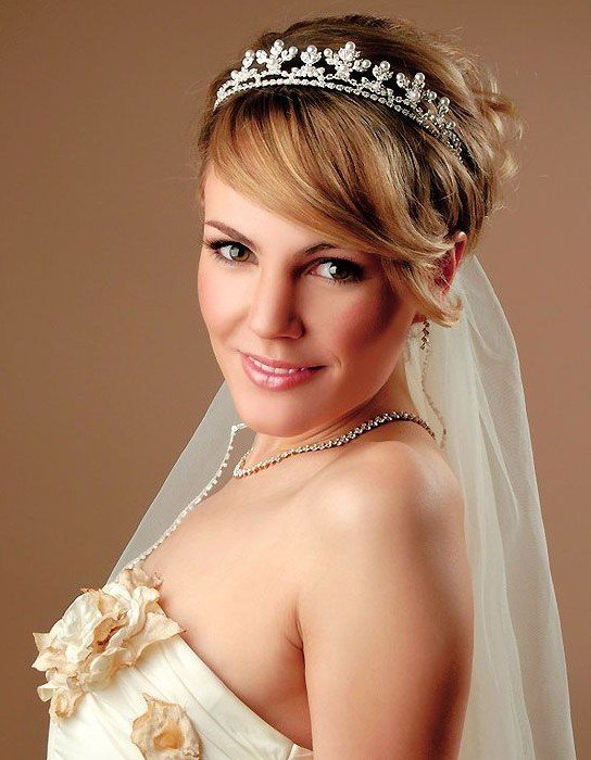 The Best 10 Wedding Hairstyles 2014 For Short Hair Popular Haircuts Pictures