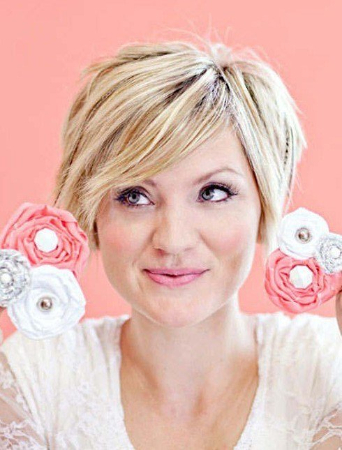 The Best 10 Easy Short Hairstyles For Round Faces Popular Haircuts Pictures