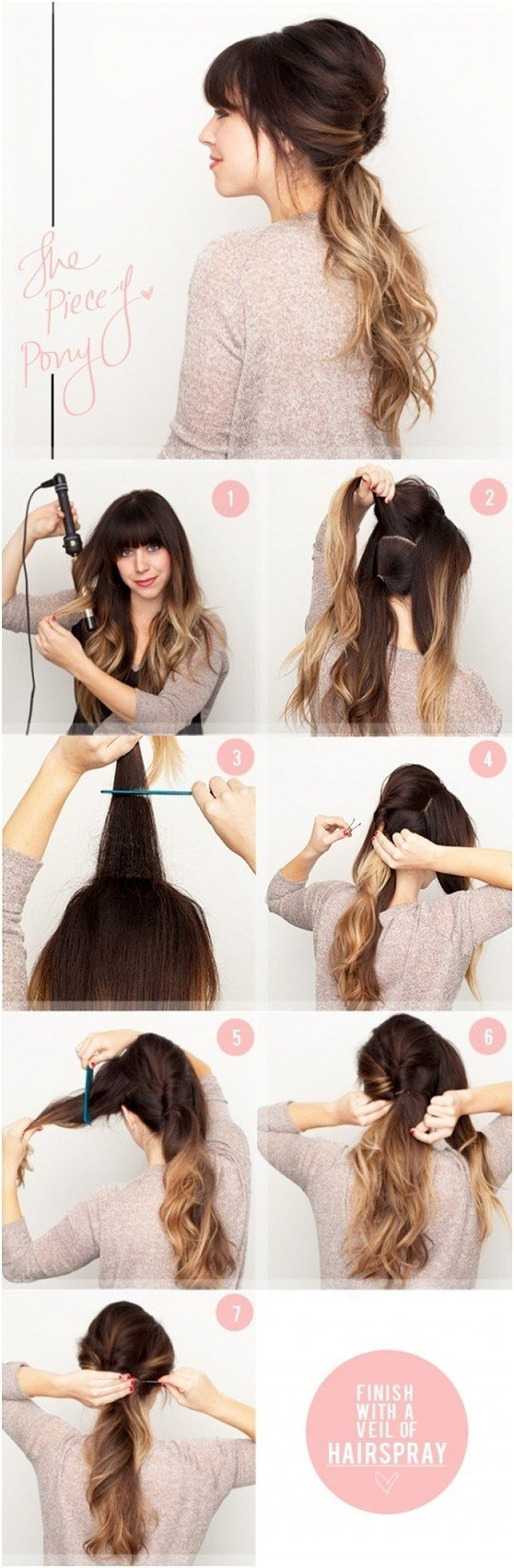 The Best 15 Cute And Easy Ponytail Hairstyles Tutorials Popular Haircuts Pictures