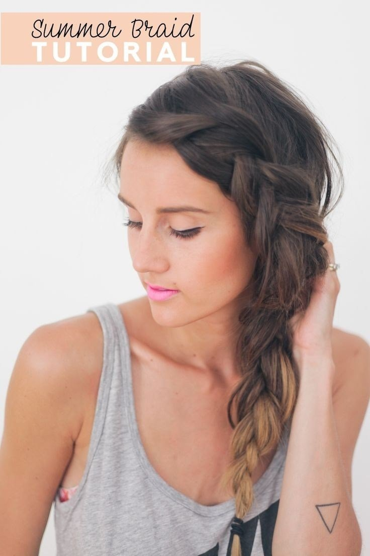 The Best 26 Pretty Braided Hairstyle For Summer Popular Haircuts Pictures