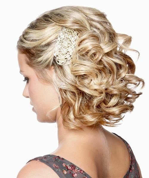 The Best Bridesmaid Hairstyles For Short Hair Popular Haircuts Pictures