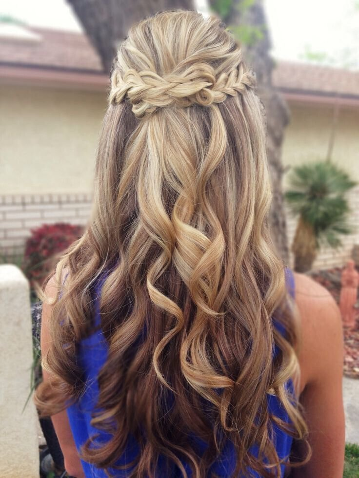 The Best 15 Latest Half Up Half Down Wedding Hairstyles For Trendy Pictures