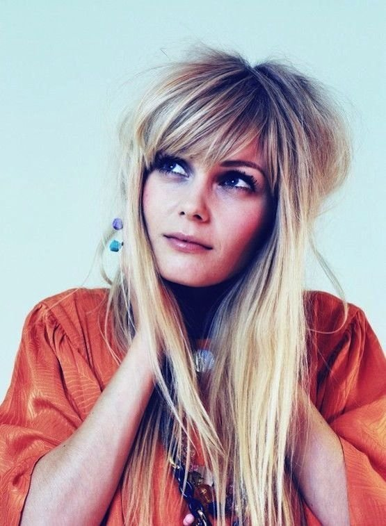 The Best 18 Freshest Long Layered Hairstyles With Bangs Face Pictures