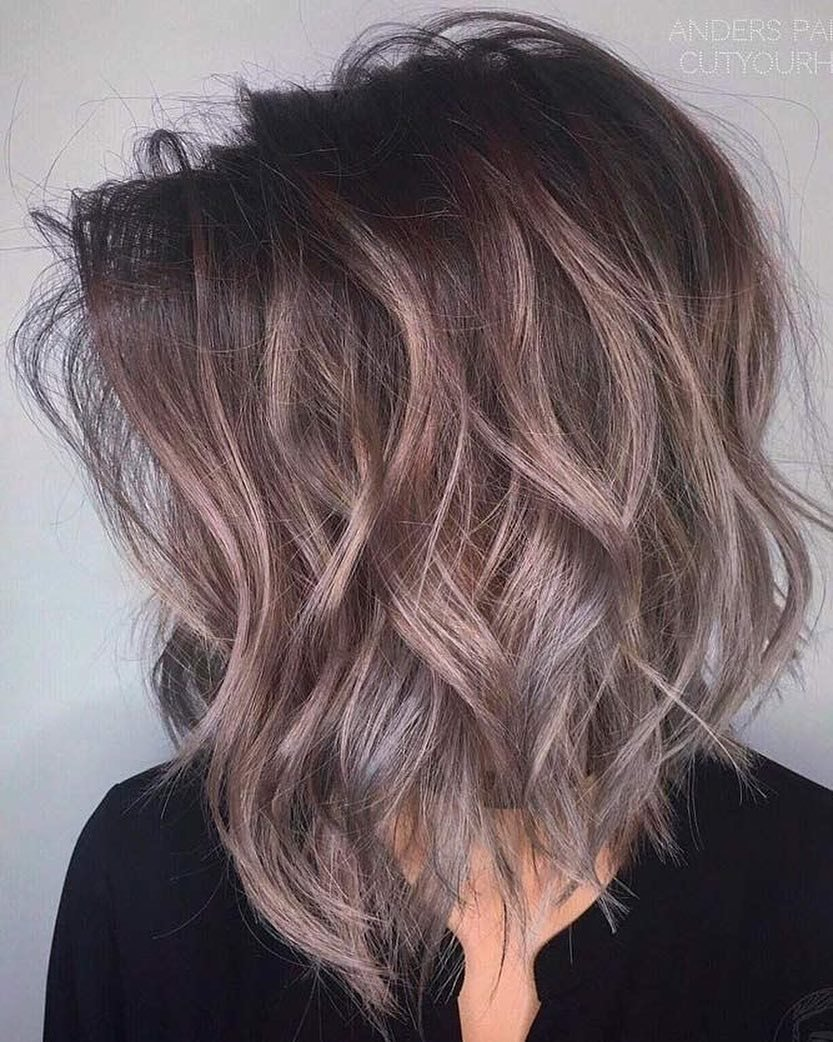 The Best 10 Latest Medium Wavy Hair Styles For Women Shoulder Pictures