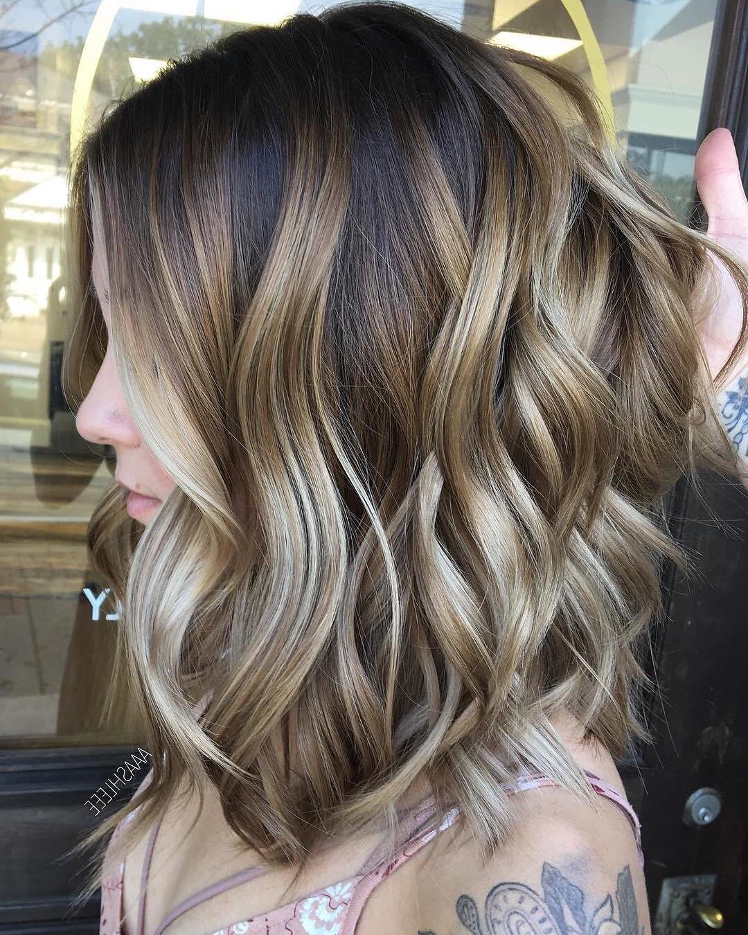 The Best 10 Ombre Balayage Hairstyles For Medium Length Hair Hair Pictures