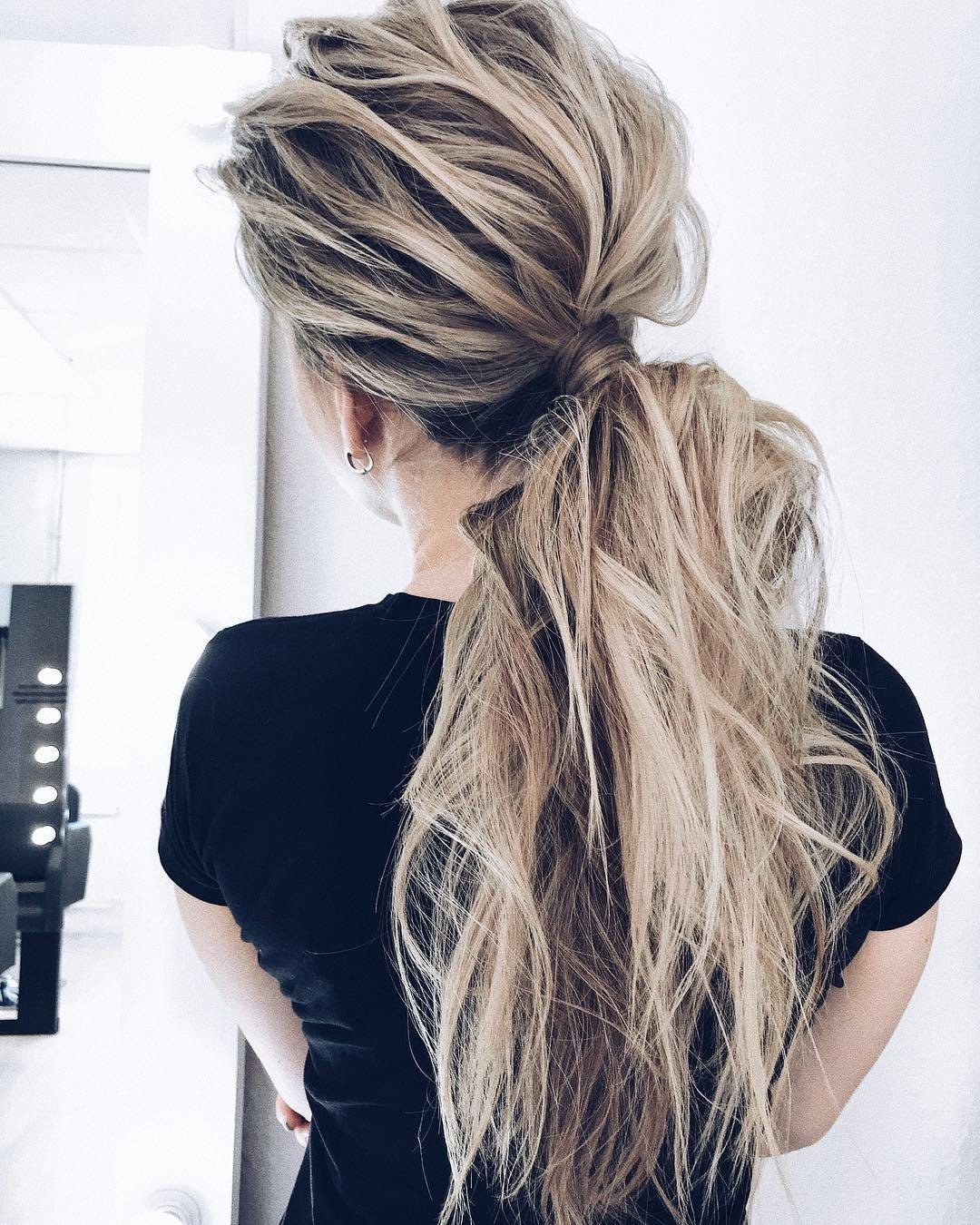 The Best 10 Creative Ponytail Hairstyles For Long Hair Summer Pictures