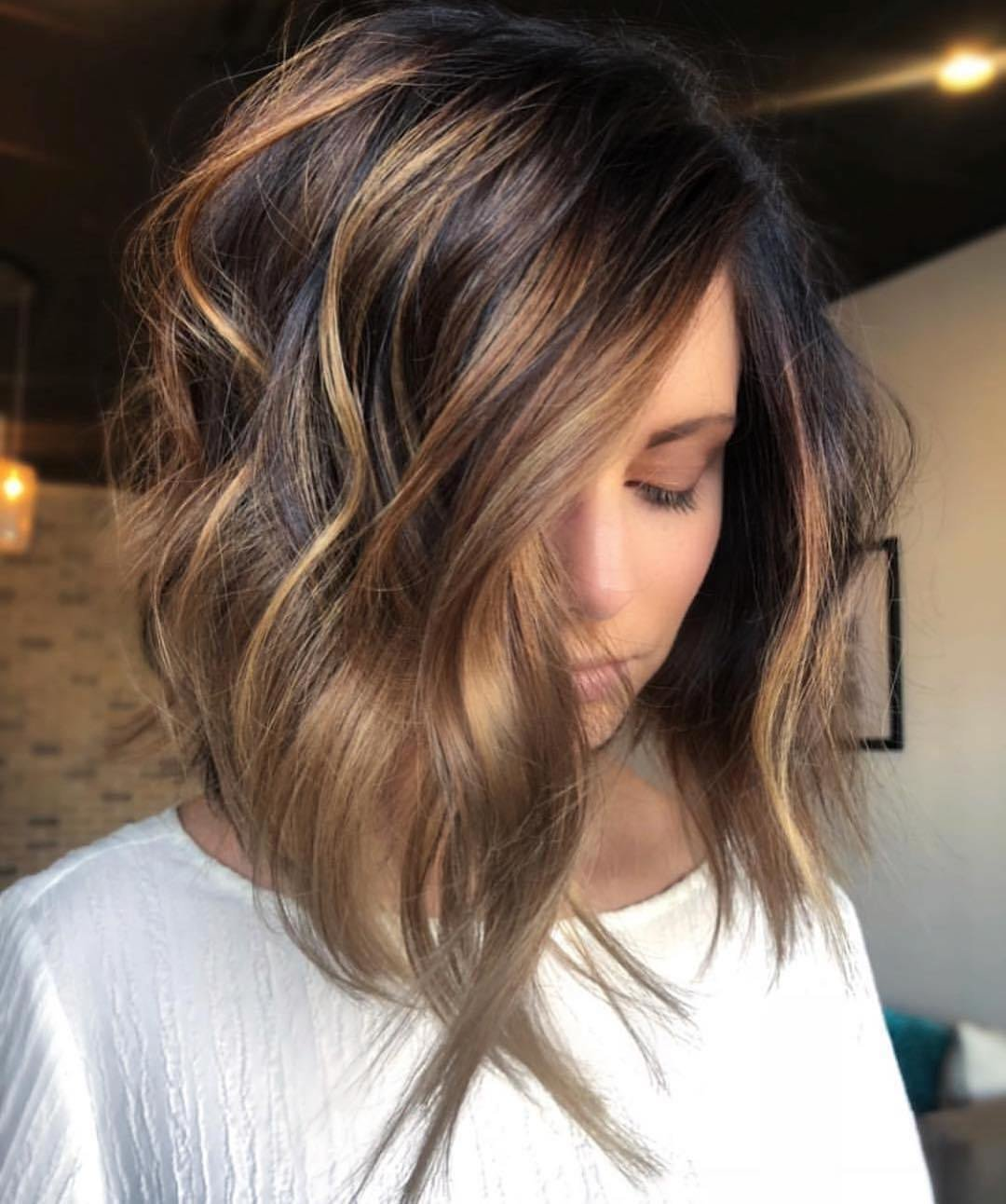 The Best 10 Trendy Ombre And Balayage Hairstyles For Shoulder Pictures