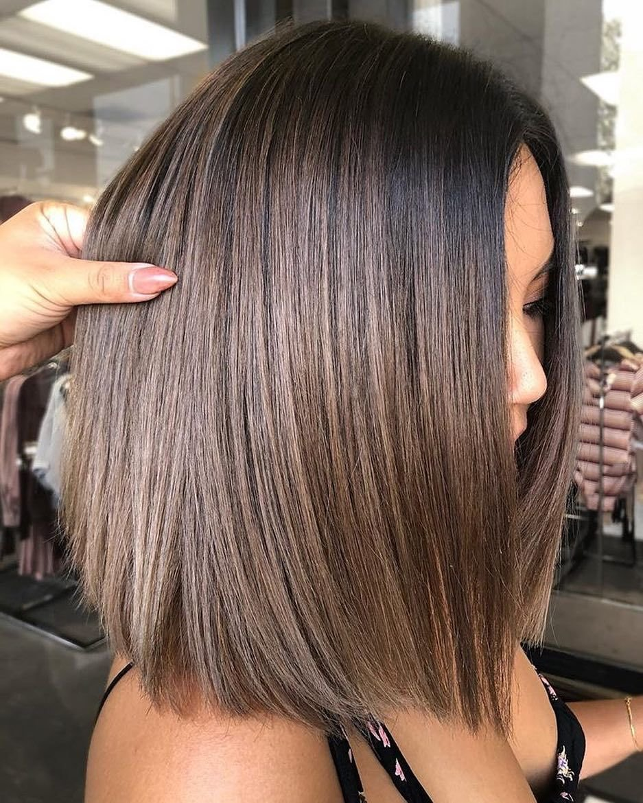 The Best Stylish Ombre Balayage Hairstyles For Shoulder Length Hair Pictures