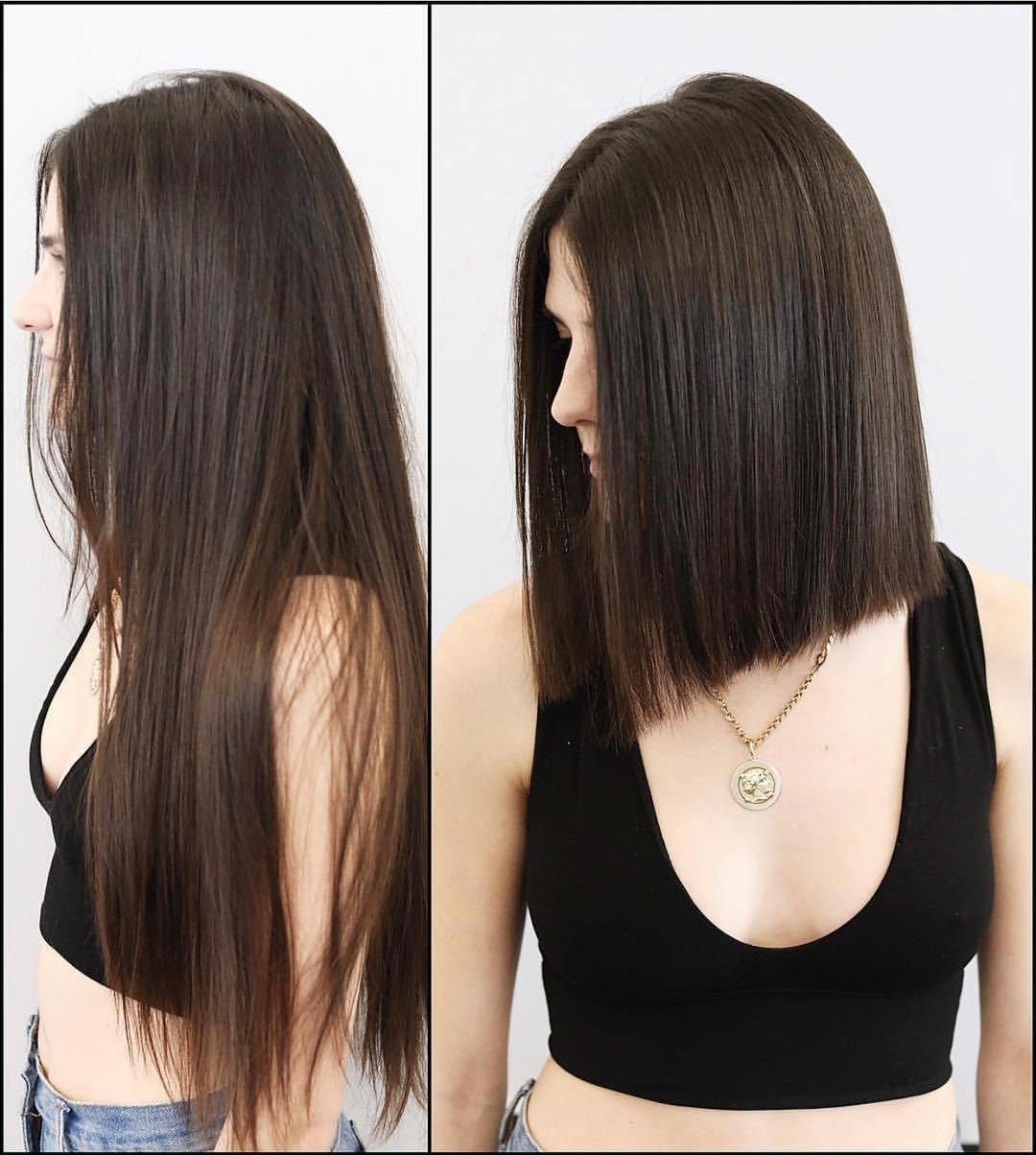 The Best 10 Stylish Lob Hairstyle Ideas Best Shoulder Length Hair Pictures