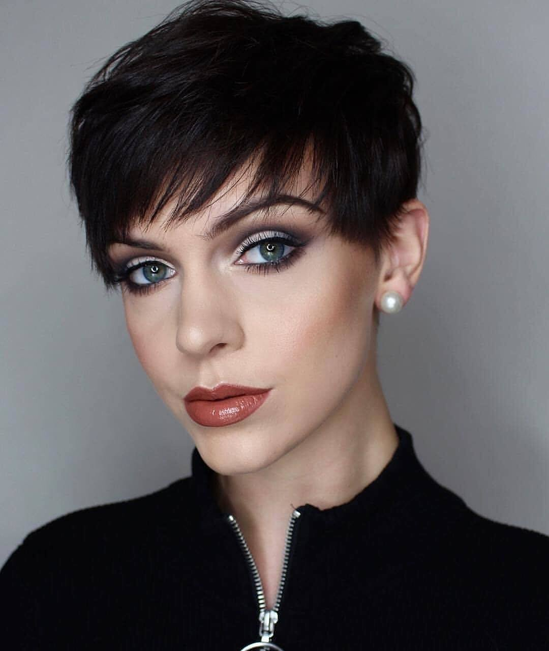 The Best Messy Pixie Haircuts To Refresh Your Face Women Short Pictures