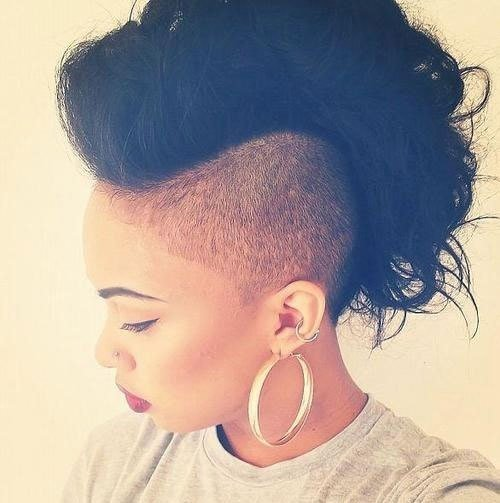 The Best Jazzy Mohawk Hairstyles For Black Women Hairstyles 2017 Pictures