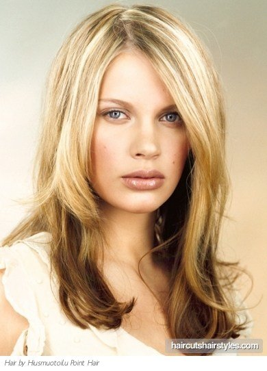 The Best Two Tone Long Hair Style Pictures