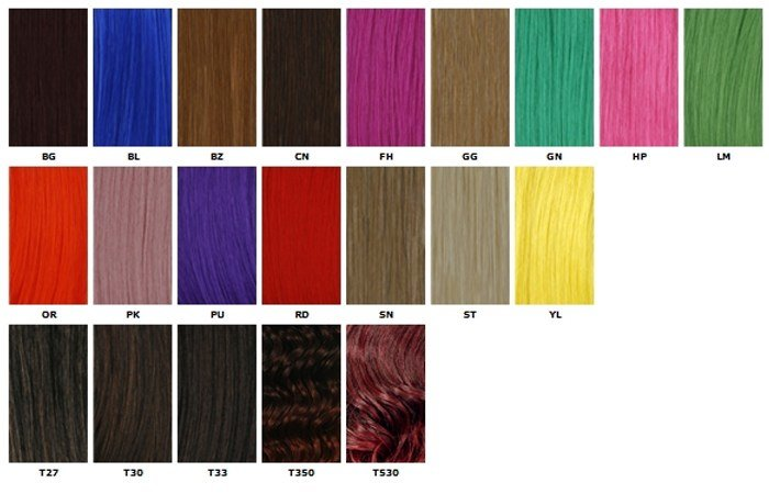 The Best Jazzing Color Chart Jobspapa Hairstyles Ideas Pictures