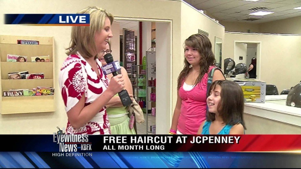 The Best Team Cambi Out Jcpenney Talking About Free Haircuts Pictures