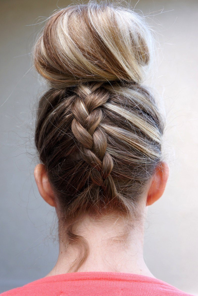 The Best 20 French Braided Hairstyles To Try Right Now Stylecaster Pictures
