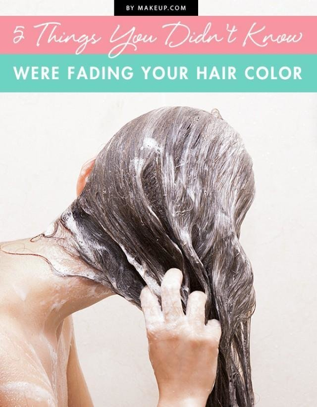 The Best 5 Things You Didn T Know Were Fading Your Hair Color Pictures