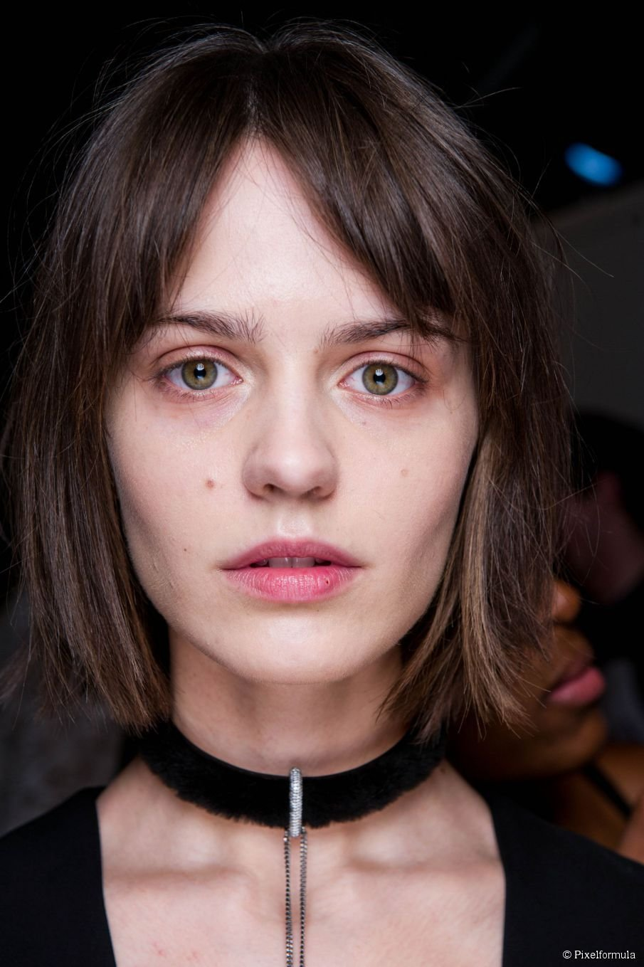 The Best Middle Parted Bangs Why You Should Get Them Pictures