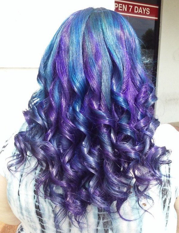 The Best Exotic V*V*D Hair Colors Fashions Hair Salon Pictures