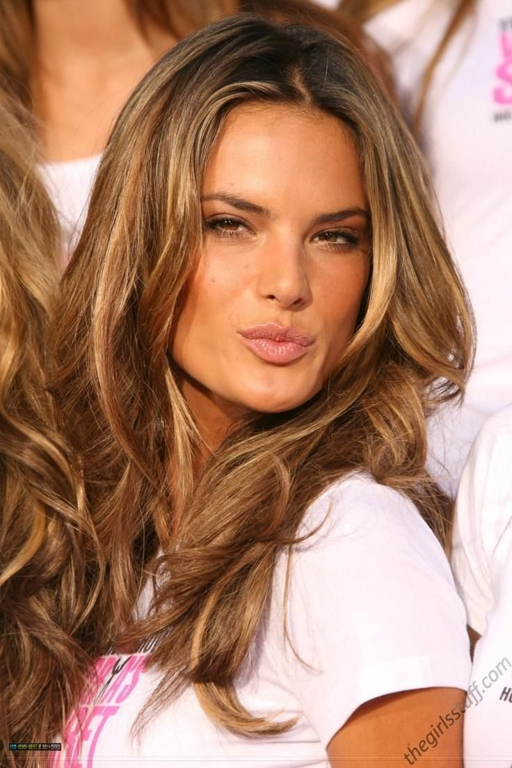The Best Alessandra Ambrosio Caramel Hair Hairspirations Pinterest Pictures