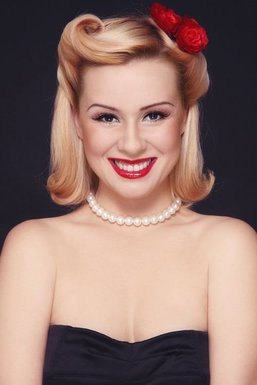 The Best Victory Rolls 1940S Hair Styles That Inspire Pinterest Pictures