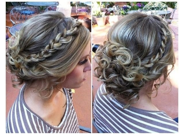 The Best Possible Hairstyle For Winter Formal Hair Nail And Pictures