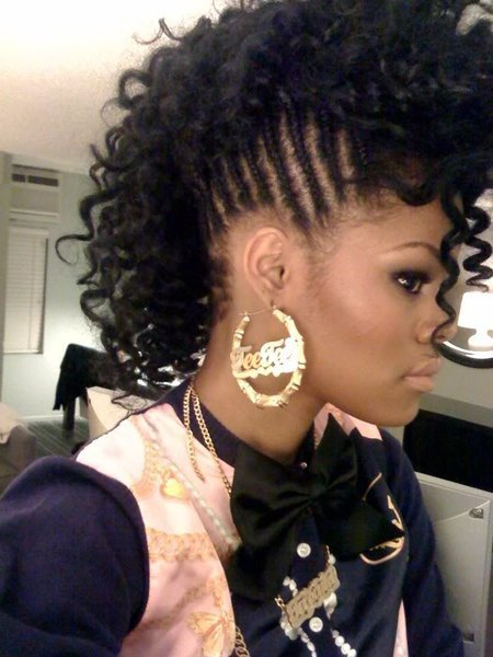 The Best Eoo50Ylu Black Hairstyles Mohawk Pictures