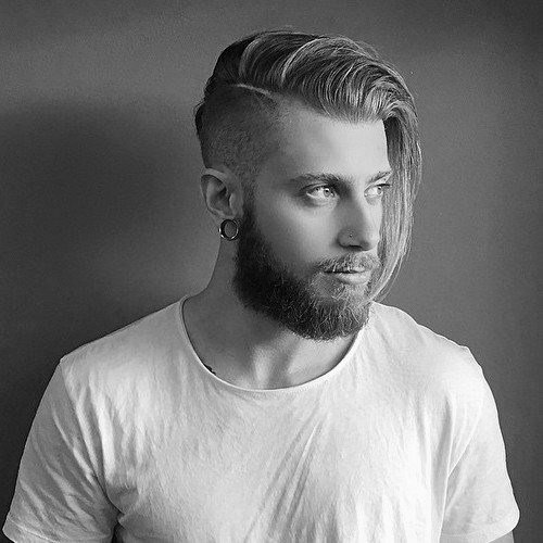 The Best Undercut With Beard Haircut For Men 40 Manly Hairstyles Pictures