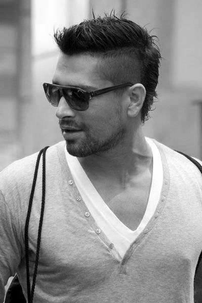 The Best Faux Hawk Fade Haircut For Men 40 Spiky Modern Styles Pictures