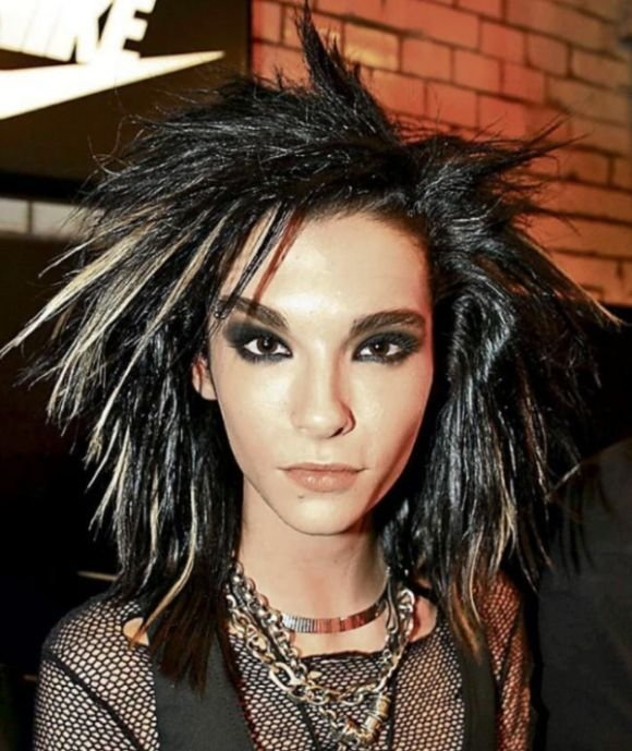 The Best Bill Kaulitz Shows Off His Colorful New Hairstyle 3 Pics Pictures