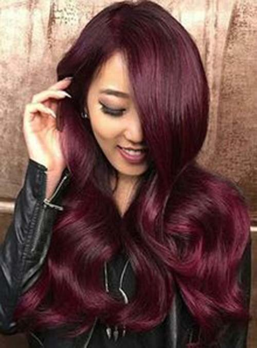 The Best 20 Mahogany Haircolor For S*Xy Looks Pictures
