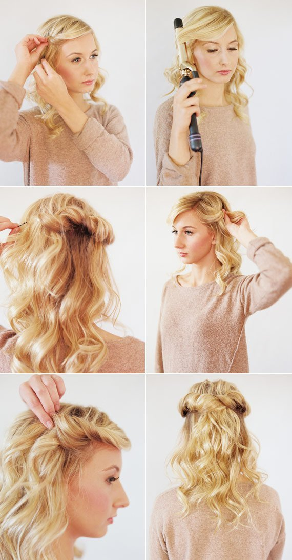 The Best 17 Easy Diy Tutorials For Glamorous And Cute Hairstyle Pictures