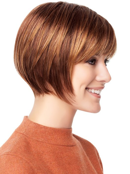 The Best Hairstyle Simple Beautiful Bobs With Bangs Fringe Pictures
