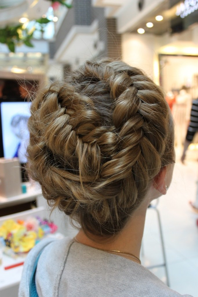 The Best Braid Hairstyles 2012 13 For Asians Party Hair Fashion Pictures