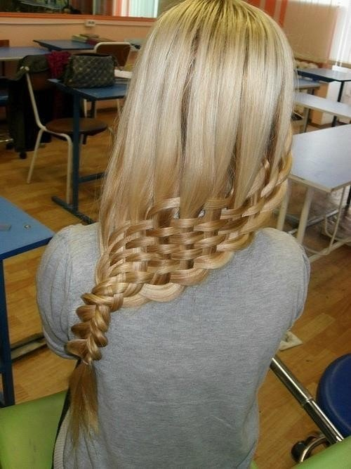 The Best Easter Hairstyles The Basket Weave Braid Hairstyles For Pictures